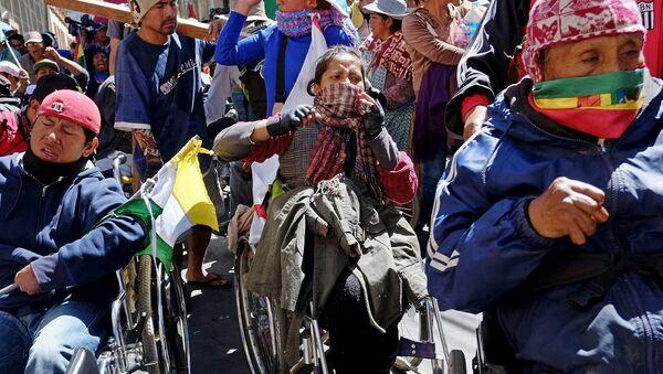 Discapacitados en Bolivia - Sputnik Mundo