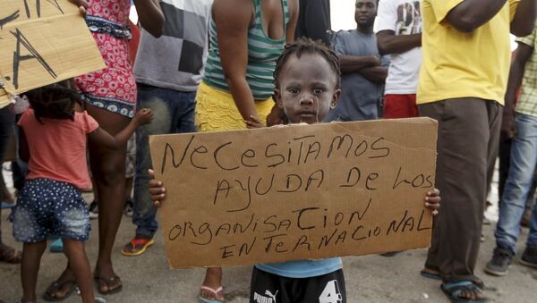 Migrantes africanos en Costa Rica - Sputnik Mundo