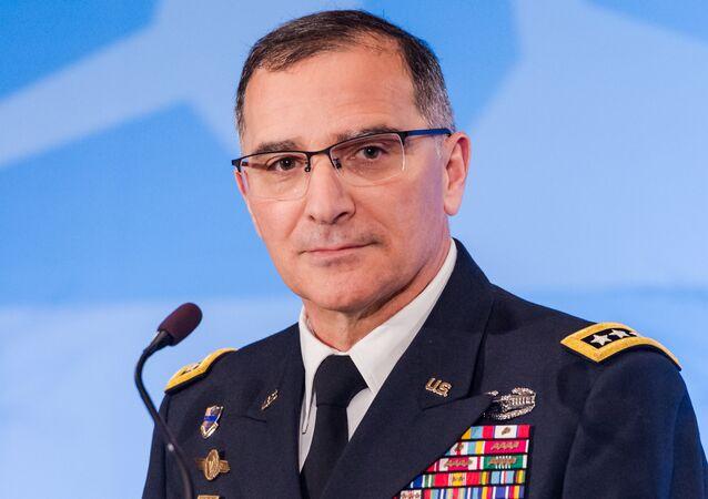 Curtis Scaparrotti, comandante supremo de la OTAN para Europa