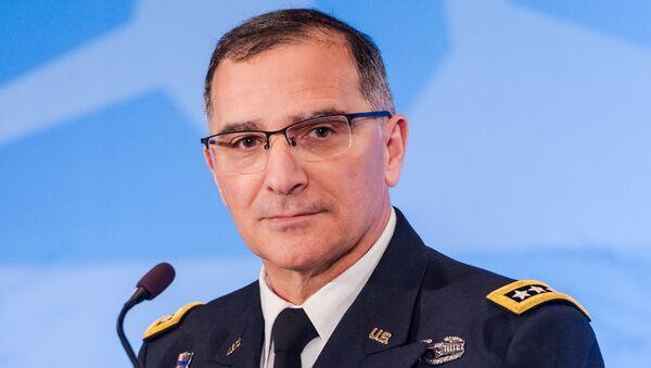 Curtis Scaparrotti, comandante supremo de la OTAN para Europa - Sputnik Mundo
