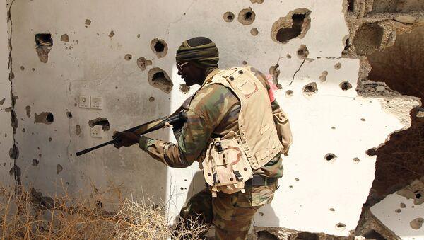 Militar libio - Sputnik Mundo