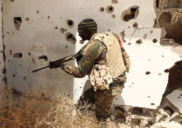 Un militar libio (archivo)