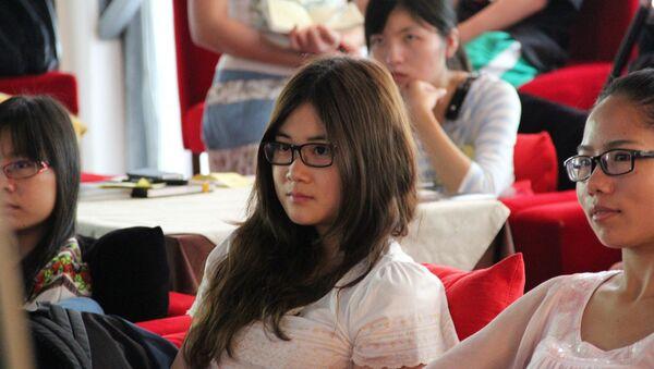 Estudiantes chinos (Archivo) - Sputnik Mundo