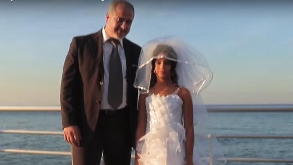 Un matrimonio infantil en Líbano - Sputnik Mundo