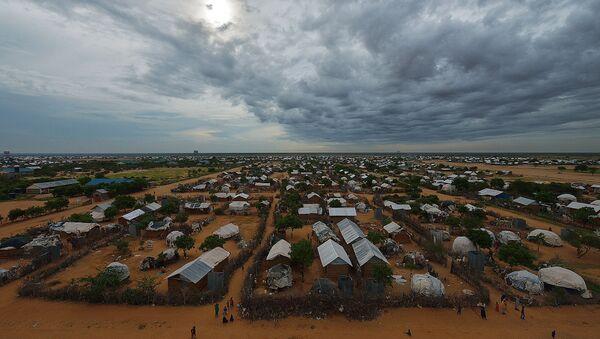 Campo de refugiados (archivo) - Sputnik Mundo