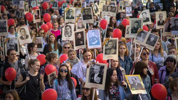 Marcha del Regimiento Inmortal (Archivo) - Sputnik Mundo