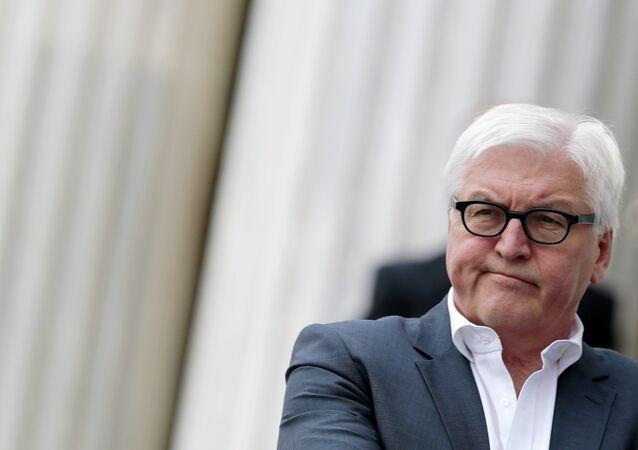 Frank-Walter Steinmeier, el ministro de Exteriores de Alemania
