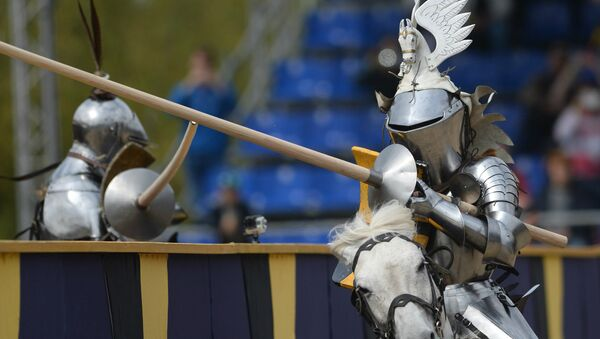Torneo Medieval San Jorge en Moscú - Sputnik Mundo