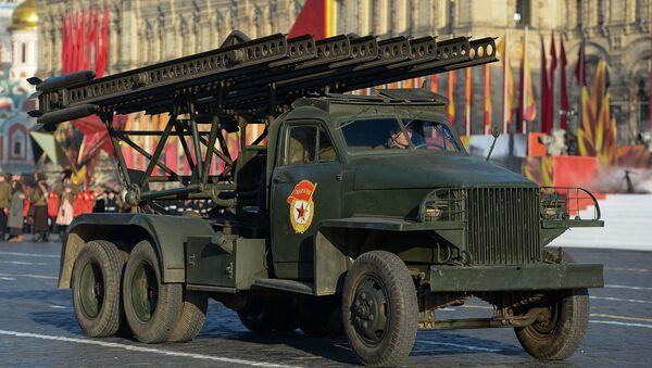 El lanzamisiles soviético BM-13 Katiusha - Sputnik Mundo