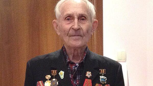 Mijaíl Lukiánov, veterano de la Gran Guerra Patria - Sputnik Mundo