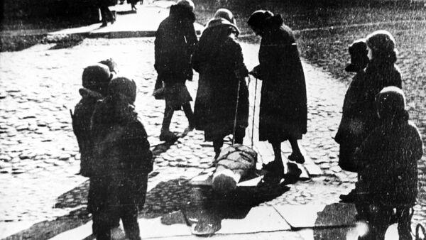 Leningrado durante el bloqueo - Sputnik Mundo