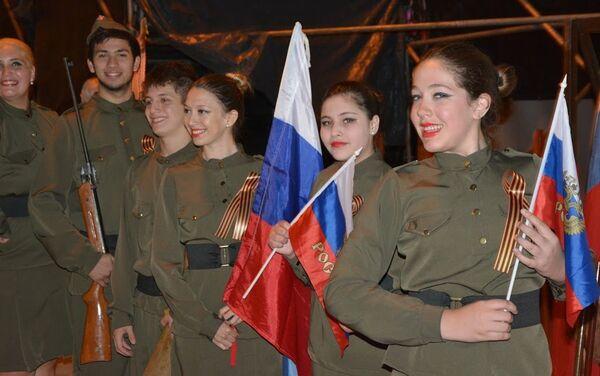 Argentinos descendientes de familias rusas celebran el Día de la Victoria - Sputnik Mundo