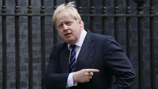 Boris Johnson, el exalcalde de Londres - Sputnik Mundo