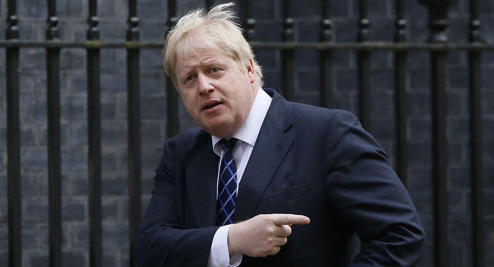 Boris Johnson, el exalcalde de Londres