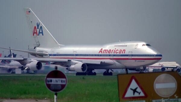Avión de American Airlines - Sputnik Mundo
