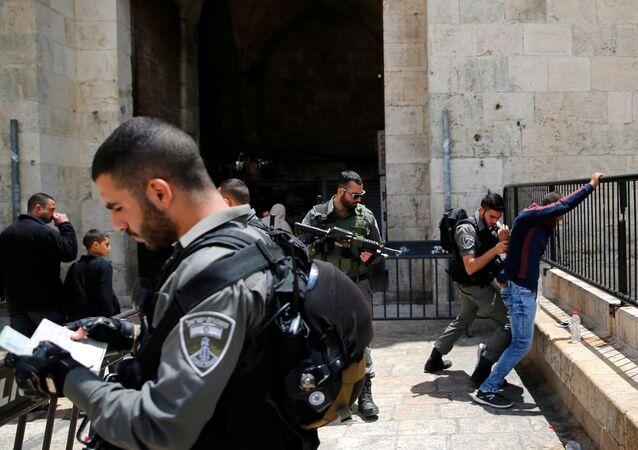 La policía de Israel (archivo)