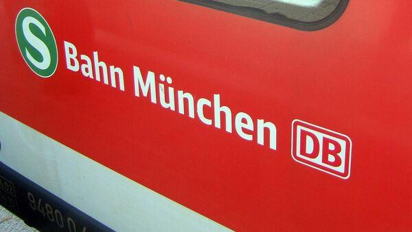 Una red ferroviaria S-Bahn en Múnich - Sputnik Mundo