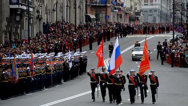 Парад Победы в городах России - Sputnik Mundo