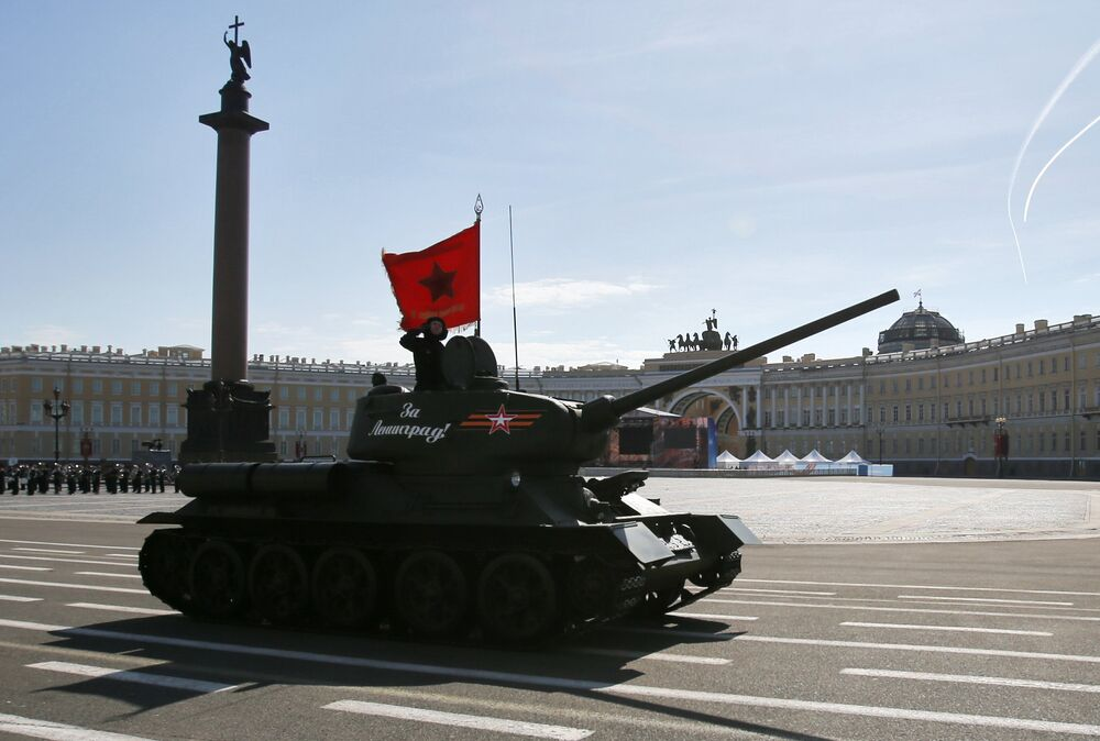 Las ciudades de Rusia celebran el Día de la Victoria