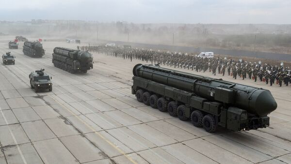 Misiles balísticos Yars - Sputnik Mundo