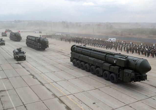 Misiles balísticos Yars