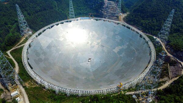 FAST, radiotelescopio más grande del mundo - Sputnik Mundo