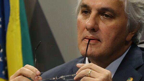 Delcídio Amaral, exsenador del Partido de los Trabajadores (PT) - Sputnik Mundo