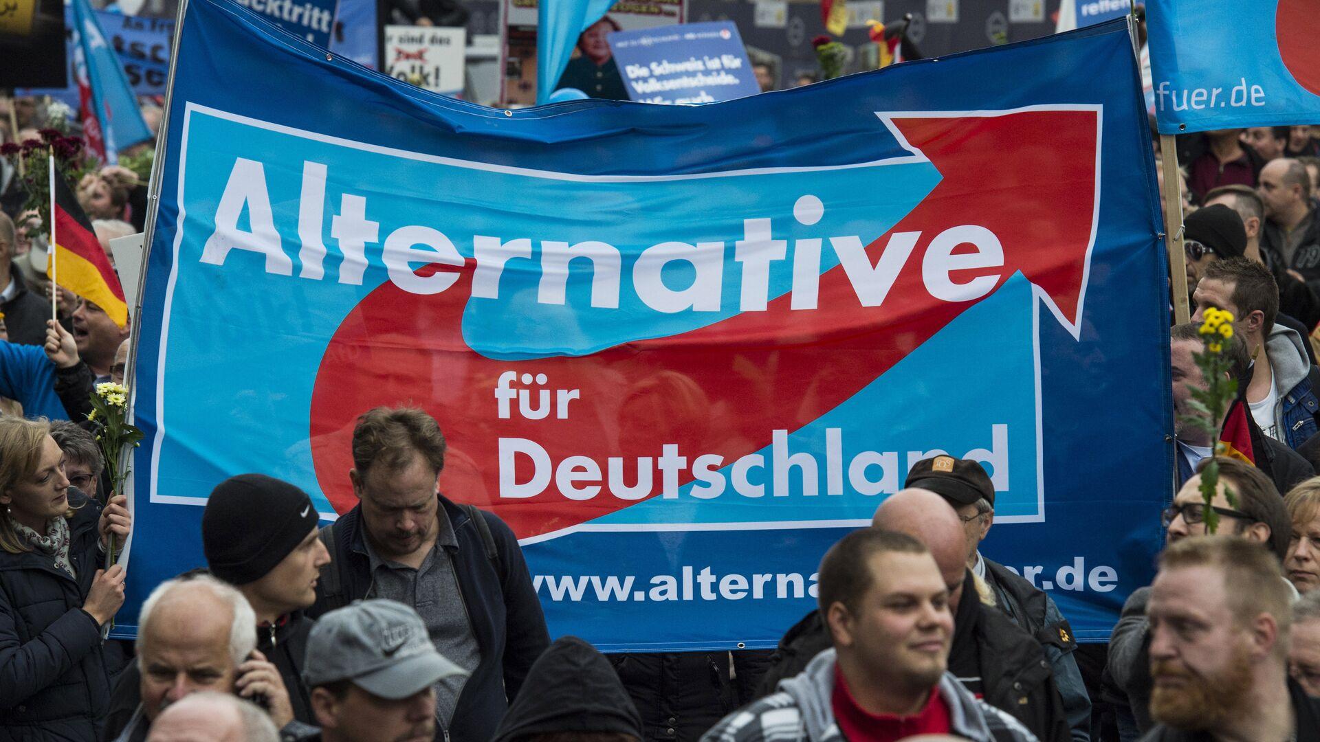 Partidores del Alternativa para Alemania en Berlín - Sputnik Mundo, 1920, 13.07.2021