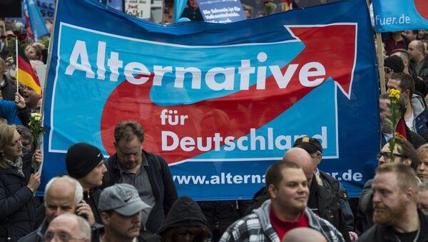 Partidarios del Alternativa para Alemania en Berlín - Sputnik Mundo