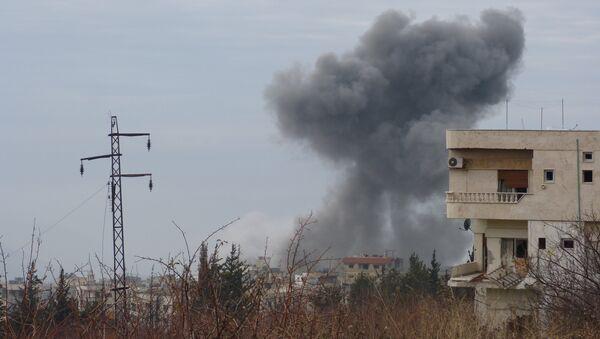 La ciudad de Al-Fuah, situada en la provincia noroccidental de Idlib - Sputnik Mundo