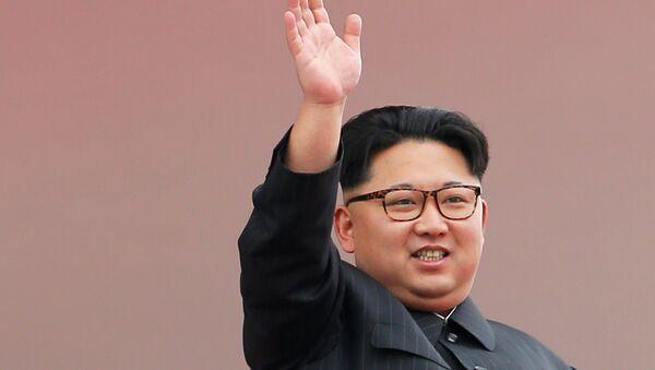 Kim Jong-Un, líder del Corea del Norte - Sputnik Mundo