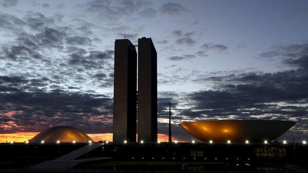 La sede del Congreso Nacional en Brasilia - Sputnik Mundo