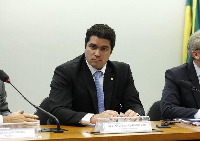 Newton Cardoso Jr., diputado del PMDB