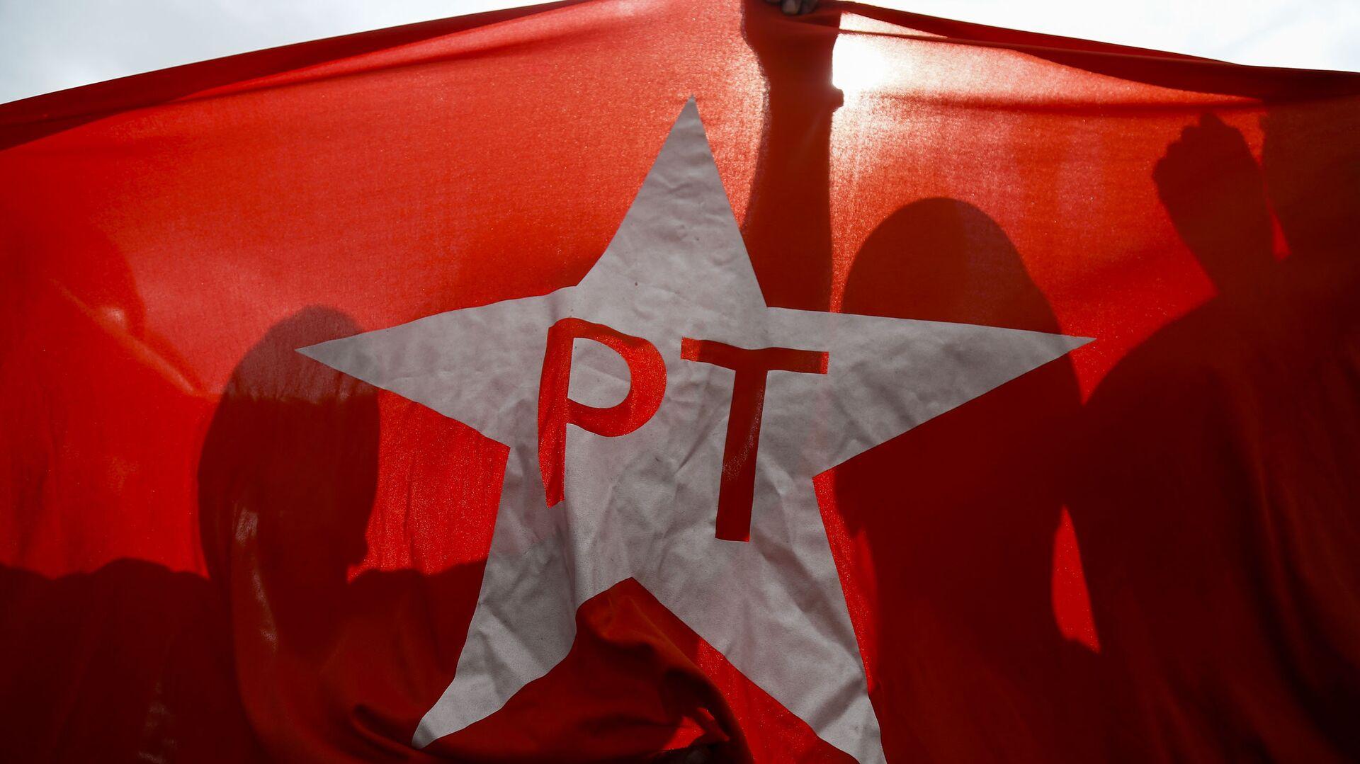 Bandera del Partido de los Trabajadores - Sputnik Mundo, 1920, 31.05.2021