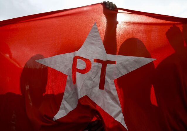 Bandera del Partido de los Trabajadores