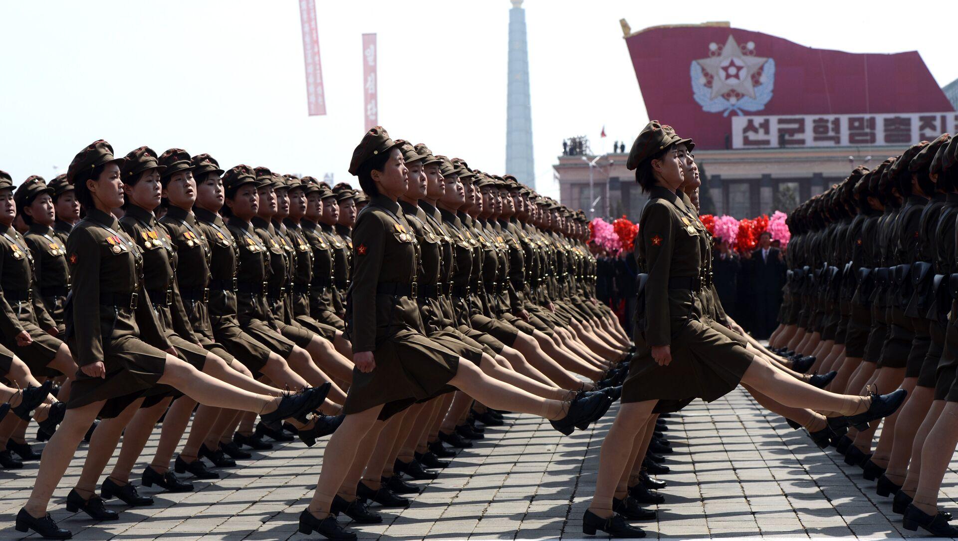 Mujeres soldados de Corea del Norte - Sputnik Mundo, 1920, 18.03.2021