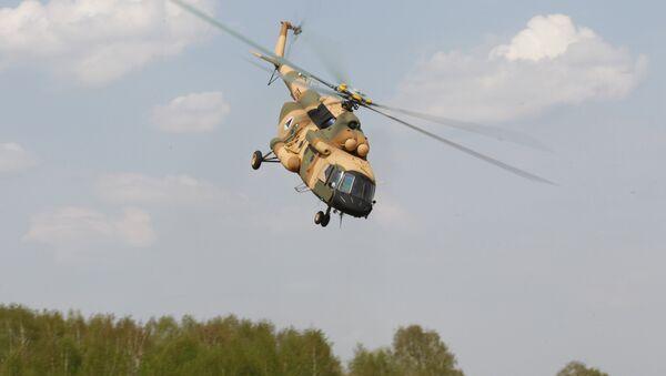 Helicóptero Mi-17V-5 (archivo) - Sputnik Mundo