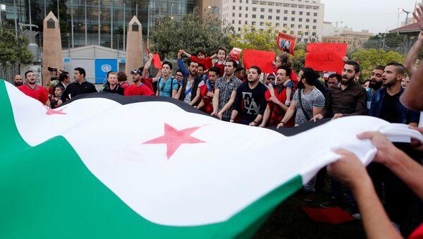 Los partidarios de la oposición siria (archivo) - Sputnik Mundo