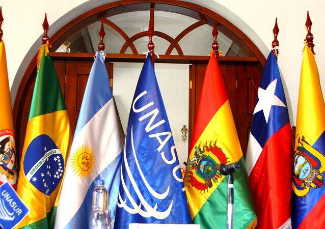 Banderas de Unasur