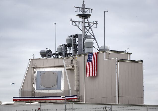 Radar estadounidense de la defensa antiaérea