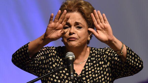 Президент Бразилии Дилма Роуссефф - Sputnik Mundo