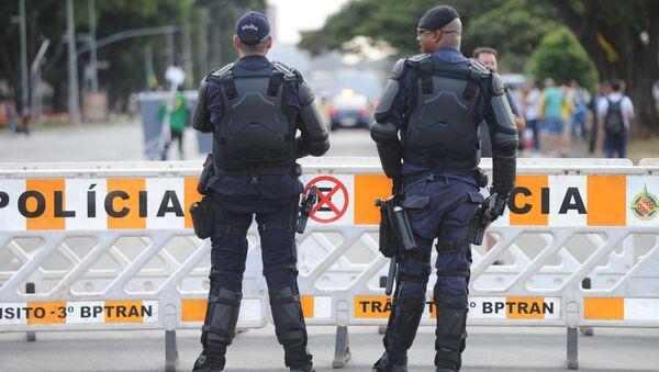 Policia de Brasil - Sputnik Mundo