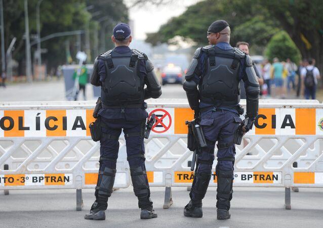 Policia de Brasil