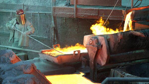 El procesamiento del cobre en Chile - Sputnik Mundo