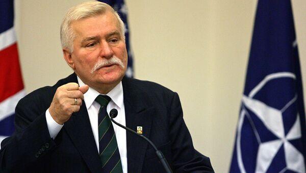 Lech Walesa, expresidente polaco - Sputnik Mundo