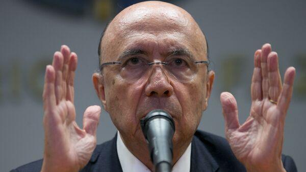 Henrique Meirelles, ministro de Finanzas de Brasil - Sputnik Mundo