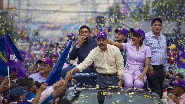 Danilo Medina, presidente de la República Dominicana - Sputnik Mundo