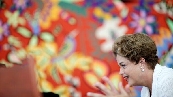 Dilma Rousseff, apartada del cargo de presidente de Brasil - Sputnik Mundo