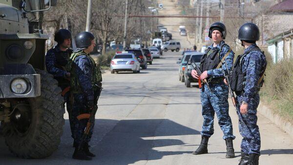 Operación antiterrorista en Daguestán (archivo) - Sputnik Mundo