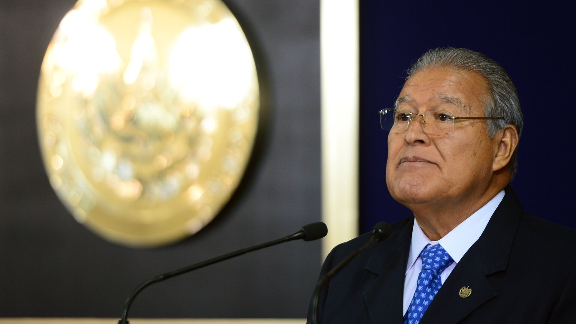 El presidente salvadoreño, Salvador Sánchez Cerén - Sputnik Mundo, 1920, 30.07.2021